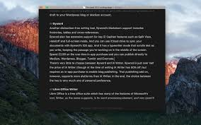 best mac word processor 2017 macworld uk