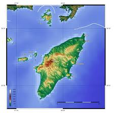 Topographical Map Of South America by Topographic Map Of Rhodes Dodecanese Islands Greece Islands