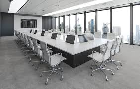 Black Boardroom Table Bcn Boardroom Meeting Tables For Senior Management Areas