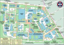 Boston University Campus Map by Edinburgh Map Maps Edinburgh Scotland Uk