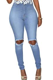 Light Wash Ripped Skinny Jeans High Quality Lifting Skinny Jeans Buy Cheap Lifting Skinny Jeans