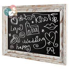 shabby chic chalkboard home decor ebay