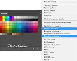 photoshoplus ajouter des nuanciers dans photoshop