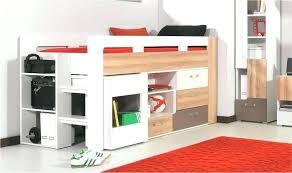 lit mezzanine ado avec bureau et rangement bureau mezzanine lit mezzanine bureau ado lit hauteur rangement
