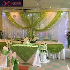 wedding backdrop green green wedding backdrops promotion shop for promotional green