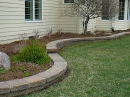 Garden Edge Ideas Idea Landscape Border Best 25 Flower Bed Edging Ideas