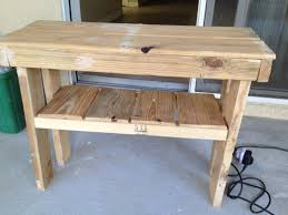 Slim Sofa Table by Obviously Homemade