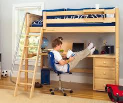 lingo twin size high loft bed