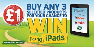 Where To Buy Minion Tic Tacs Win 1 Of 10 Ipads U2013 Ferrero Kinder Nutella Tic Tac Promotion