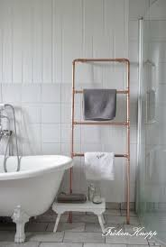 Bathroom Towel Ideas by Best 10 Towel Hanger Ideas On Pinterest Small Bathroom