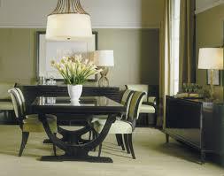 Baker Dining Room Furniture Rectangular Curved Base Dining Table 3436 Baker Furniture