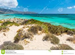 pink sand beach of elafonissi stock photo image 44291152