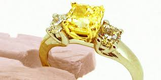 avon wedding rings yellow engagement ring