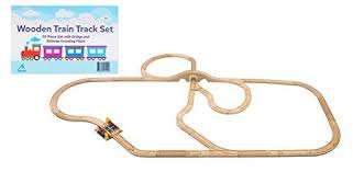 kidkraft train table compatible with thomas coolest 12 wooden train track sets