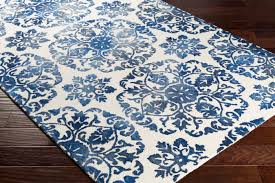 Off White Rug Artistic Weavers Organic Awog 2296 Danielle Blue Off White Rug
