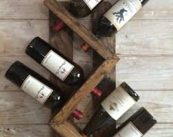 wine racks etsy