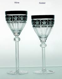 wine glasses made of fine crystal wine glass types