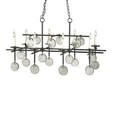 dining room lighting ideas using rectangular chandelier dining