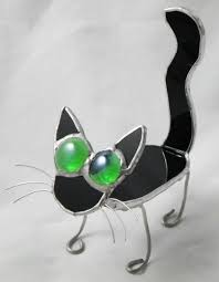 mini stained glass ls 72 best stained glass cats images on pinterest stained glass
