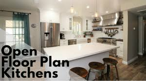 kitchen cabinets open floor plan popular kitchen designs open floor plan kitchens