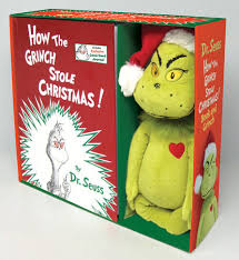 how the grinch stole book and grinch by dr seuss