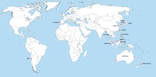 Indonesia World Map by Portugal World Map Roundtripticket Me