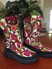 s insulated boots size 9 pucci boots ebay