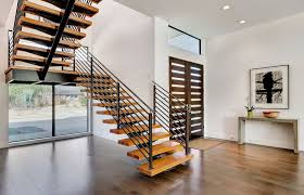 how to detail a code compliant floating staircase architizer
