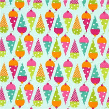 light blue fabric with cone by robert kaufman fabric
