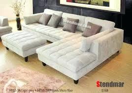 Gray Microfiber Sectional Sofa Grey Microfiber Sofa Wojcicki Me