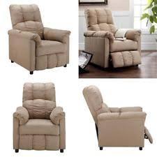 wooden recliner chairs ebay