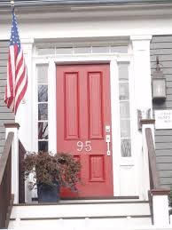 personalized front door decor selection comes with red oak entry