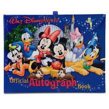 official walt disney world resort autograph book shopdisney