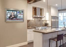 countertop tv kitchen television picgit com