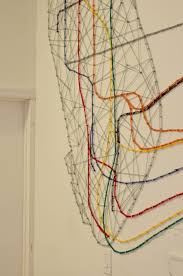 Subway Map Manhattan Downtown Manhattan Subway Map Made Out Of 753 Pins And 300 Feet Of