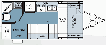 Rockwood Floor Plans Roaming Times Rv News And Overviews