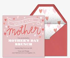 s day brunch invitation invitations free ecards and party planning ideas from evite