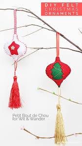diy prepare felt christmas ornaments with your kids christmas