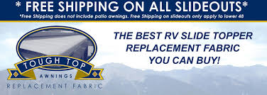 Best Way To Clean Rv Awning Our Customers Love Our Rv Slide Out Cover Replacement Fabric