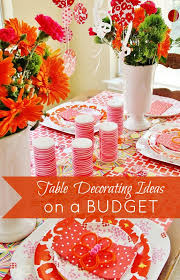 Diy Table Decorations Table Decorating Ideas On A Budget Thistlewood Farm