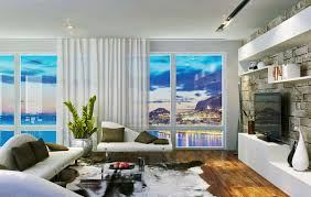 The Living Room Boston by Living Room Inspiring Apartment Ideas With Wide Glass Window White