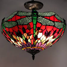 Dragonfly Light Fixture Style Dragonfly Ceiling L Free Shipping Today