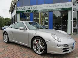 used porsche 911 uk used porsche 911 2006 petrol 997 2s 3 8 coupe silver