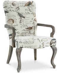 Fabric Accent Chair Bridgitte Fabric Accent Chair Quick Ship Furniture Macy U0027s