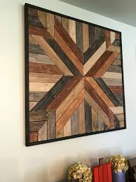 reclaimed wood wall large large rustic reclaimed wood geometric wood wall hanging