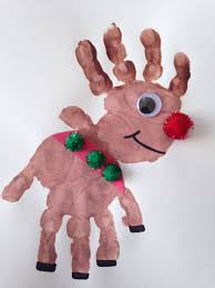Christmas Crafts With Handprints