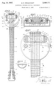 behold the first electric guitar the 1931