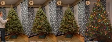 how do you put lights on a tree lights