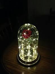 beauty and the beast light up rose pin by walt disney world travel blog on disney decor pinterest
