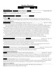 marshall resume and cover letter template tammy s trojan 5555